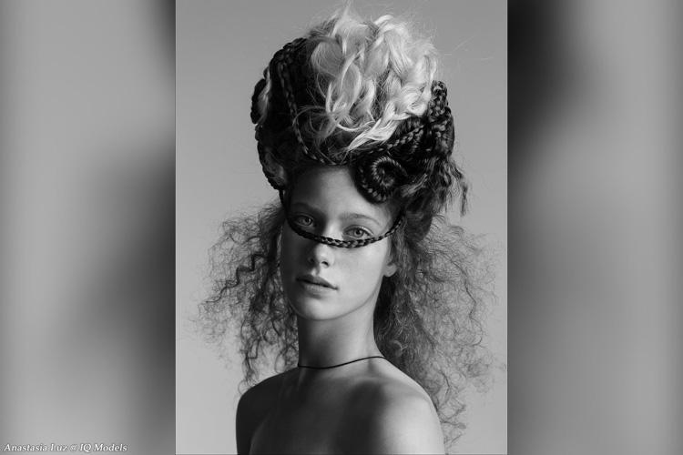 Anastasia Luz by Vitaly Mazanof for Marina Roy Hair School