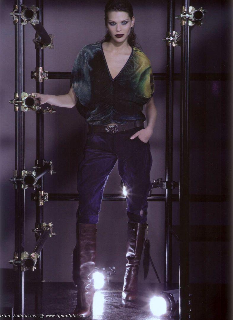 Irina Vodolazova for The Gloss - IQ Models Agency