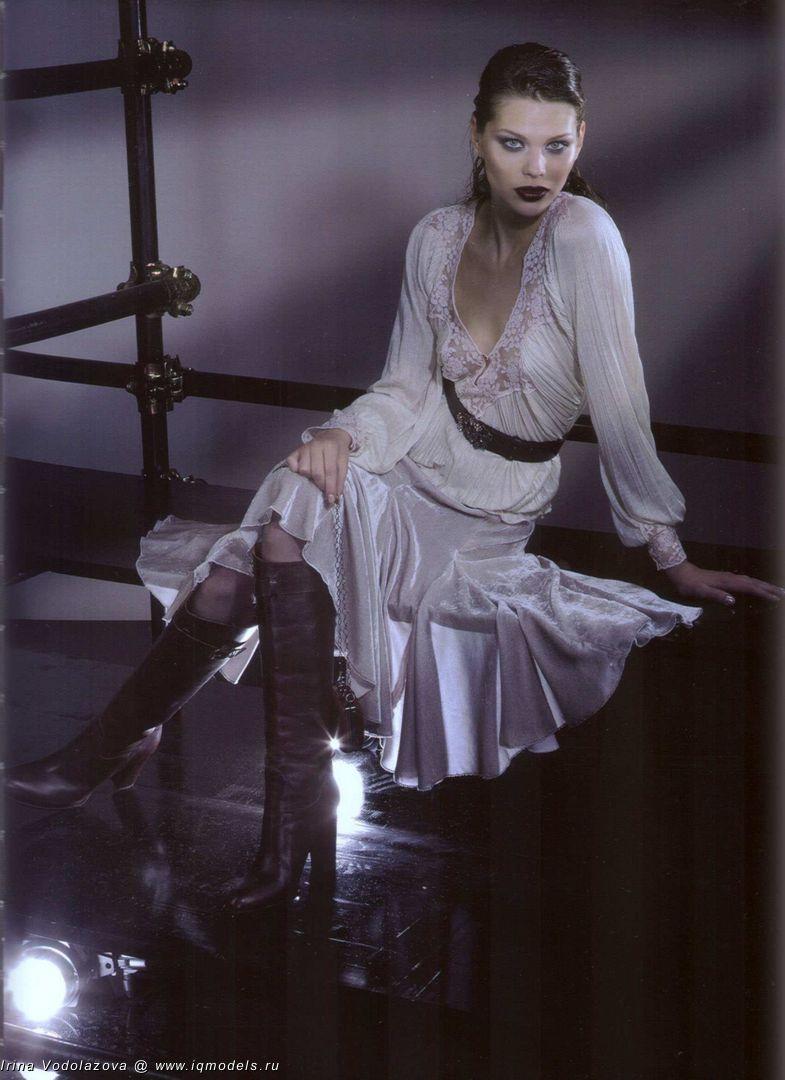 Irina Vodolazova for Anna - IQ Models Agency