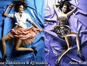 Irina Vodolazova for Anna Riska campaign