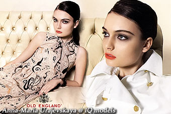 Anna-Maria Urajevskaya for Old England catalogue