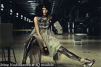 Irina Vodolazova for Gala