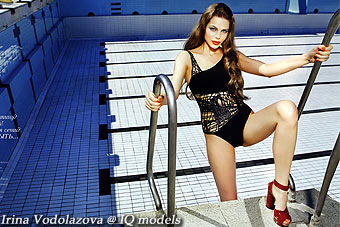 Irina Vodolazova for Elle Russia