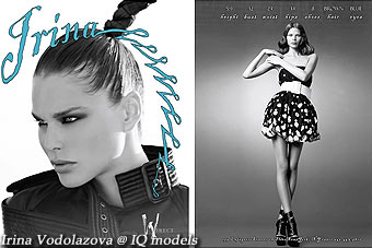 Irina Vodolazova Show Card, New York