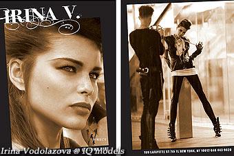 Irina Vodolazova Show Card