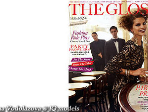 Irina Vodolazova cover for The Gloss