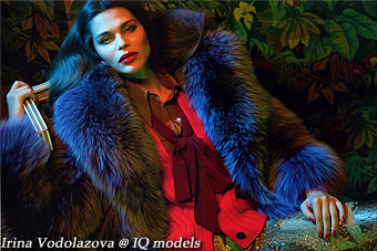 Irina Vodolazova for Marie Claire Russia, Jan 2012