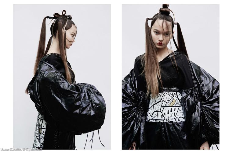 Anna Krasina by Natalia Kogan for Marina Roy Hair School