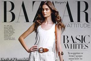 Devi for Harper's Bazaar