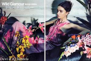 Devi for Fashion Map Taiwan, Summer 2013