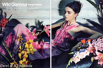 Devi for Fashion Map Taiwan, Summer 2013