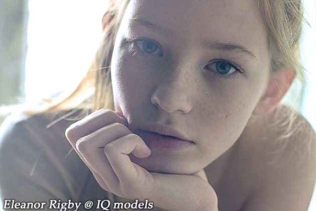 Eleanor Rigby's first ever test @ IQ Models