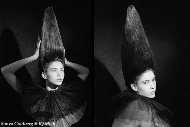 Sonya Goldberg for Marina Roy Hair School Art Workshop