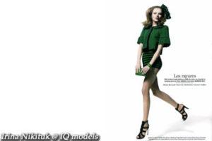 Irina Nikituk for Marie Claire France, Mart 07