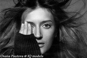 Oxana Pautova for Vogue Russia, Dec 07