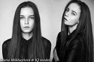 Maria Mikhaylova 1st ever test at IQ Models