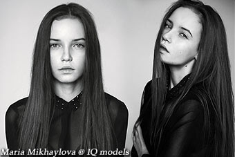 Maria Mikhaylova 1st ever test at IQ Models