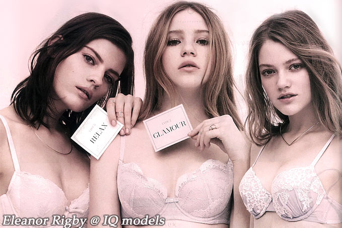 Eleanor Rigby for Lingerie advertorial