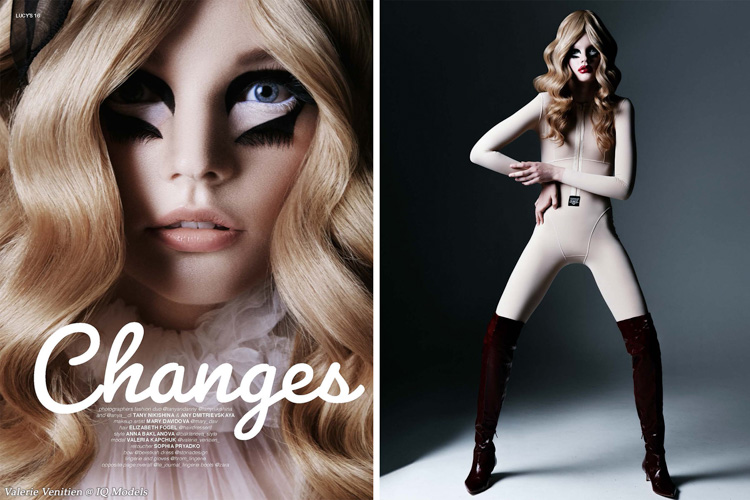 Valerie Venitien for Lucy's Magazine print issue #39