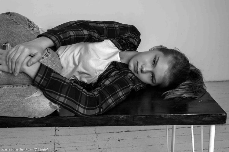 Maria Kharchenko by Luba Sanishna