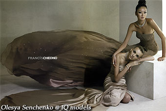 Olesya Senchenko for Francis Cheong campaign