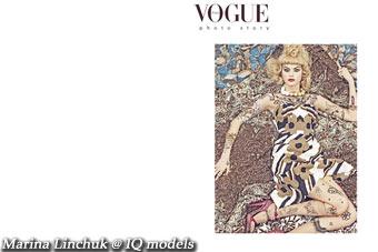 Marina Linchuk for Vogue Italy, Dec 07