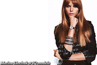 Marina Linchuk Campaign for Kenneth Cole
