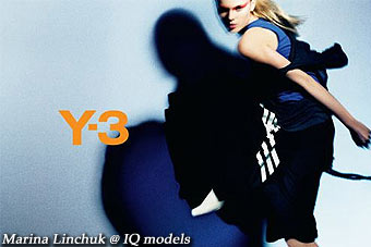 Marina Linchuk Campaign for Y3