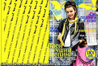 Olesya Senchenko Cover for Yes!, #111, March 08