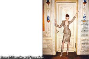 Inna Pilipenko for Vogue Russia, Apr 08