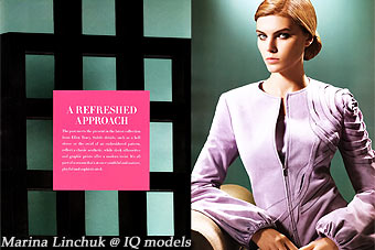 Marina Linchuk for Neiman Marcus Book May 2008