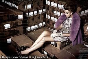 Olesya Senchenko for Vdonna, Nov 08