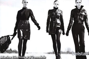 Marina Linchuk for Belstaff campaign