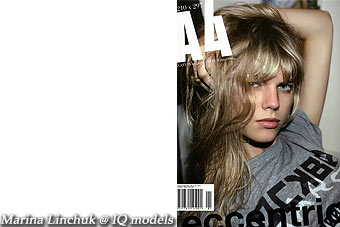 Marina Linchuk cover for A4