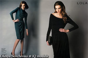 Olesya Senchenko for Lola campaign