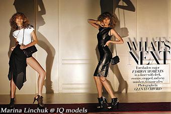 Marina Linchuk for Harper's Bazaar USA