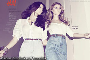 Marina Linchuk for H&M Campaign
