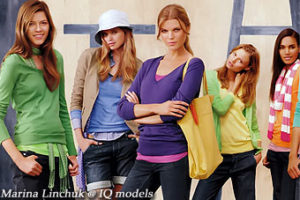 Marina Linchuk campaign for Gap S/S09