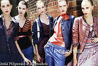 Inna Pilipenko campaign for Penny Black