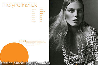 Marina Linchuk Show Card, New York