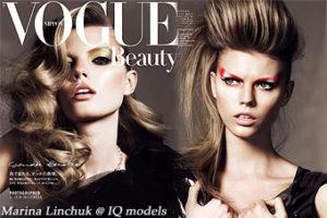 Marina Linchuk for Vogue Nippon, Oct 09
