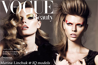 Marina Linchuk for Vogue Nippon, Oct 09