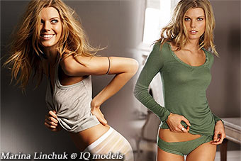 Marina Linchuk catalogue for Victoria's Secret