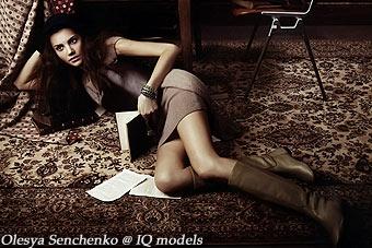 Olesya Senchenko for Elle Girl Japan, Sep 09