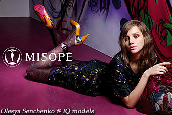 Olesya Senchenko campaign for Misope