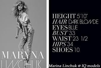 Marina Linchuk Show Card