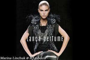 Marina Linchuk campaign for Lanca Perfume F/W 10