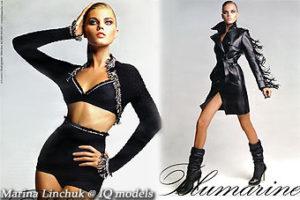 Marina Linchuk campaign for Blumarine