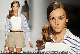 Olesya Senchenko shows at New York FW,RtW,S/S-11