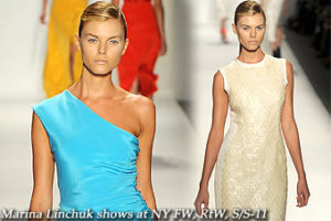 Marina Linchuk shows at New York FW,RtW,S/S-11